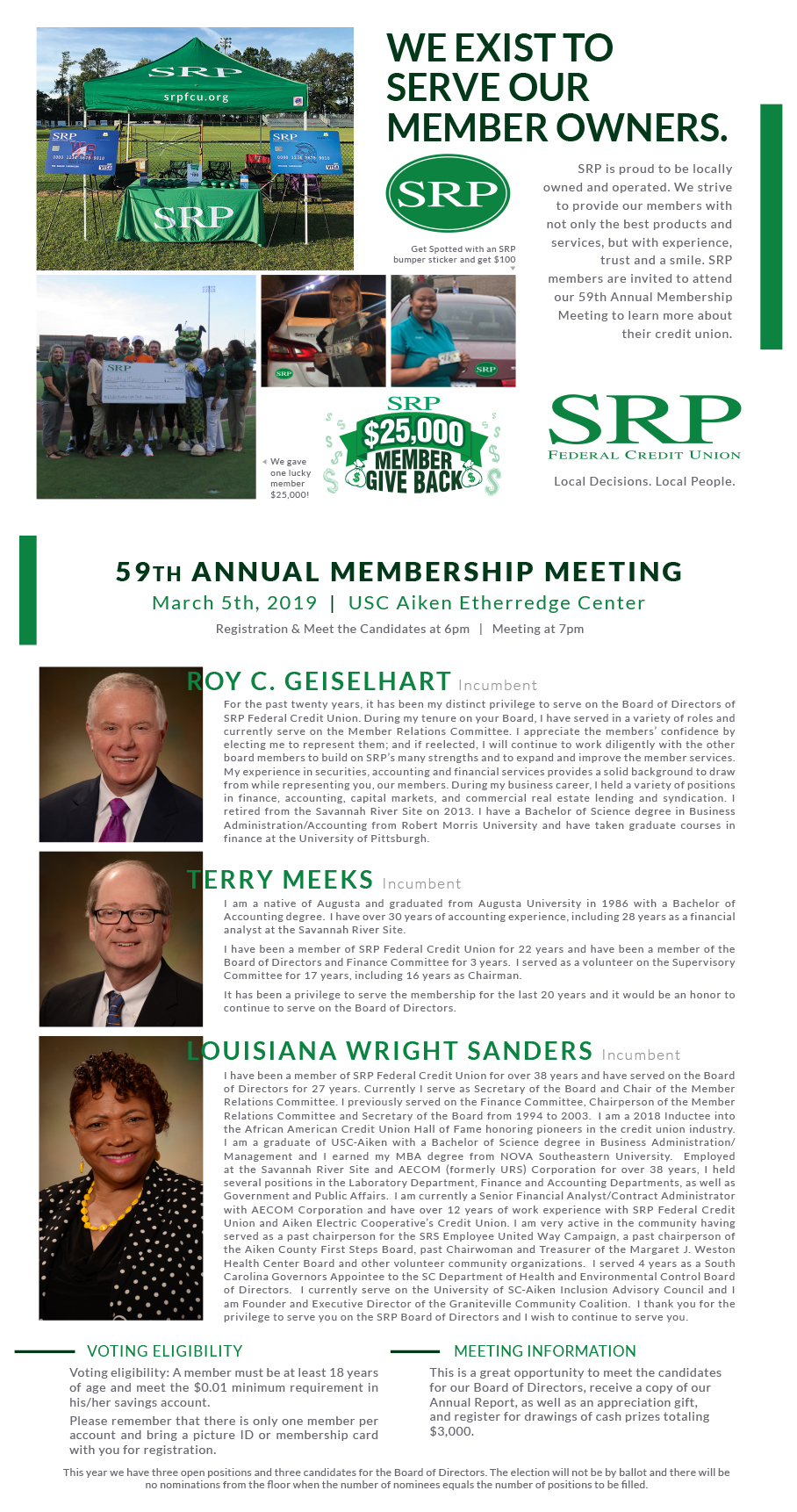 2019 Call to Meeting | Annual Meeting