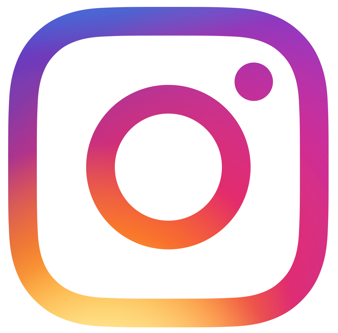 Instagram logo | Find us on Facebook and Instagram