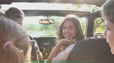 Family in Jeep | Auto Loan .99