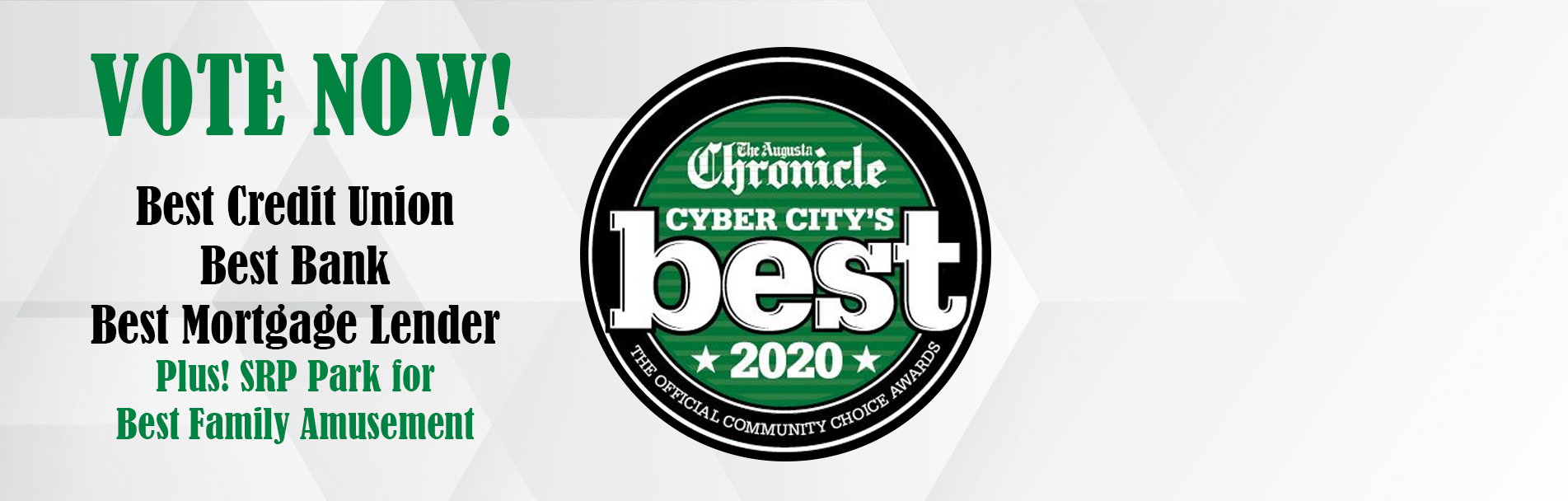 Banner - Vote Now! Cyber City's Best   Home